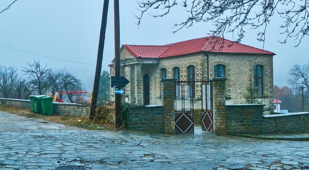 Χρυσαυγή πέτρινα σπίτια παραδοσιακής αρχιτεκτονικής