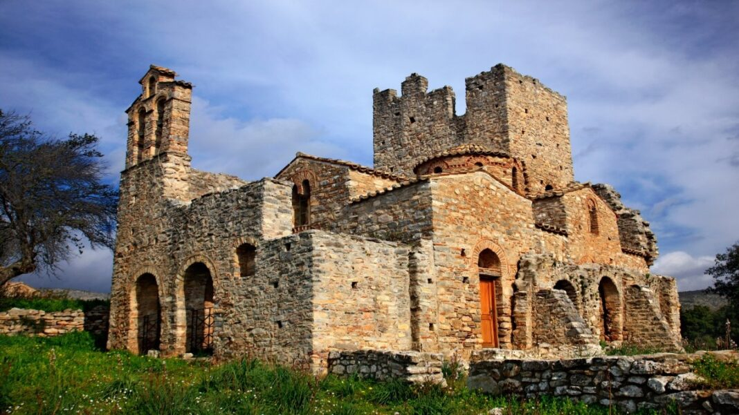 Χρύσαφα Λακωνίας ομώνυμη εκκλησία