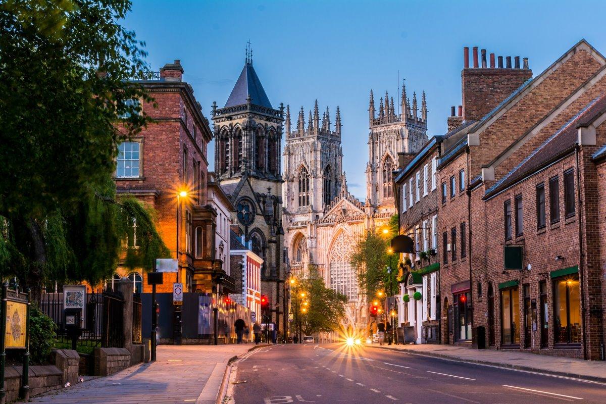 Το ατμοσφαιρικό York της Αγγλίας