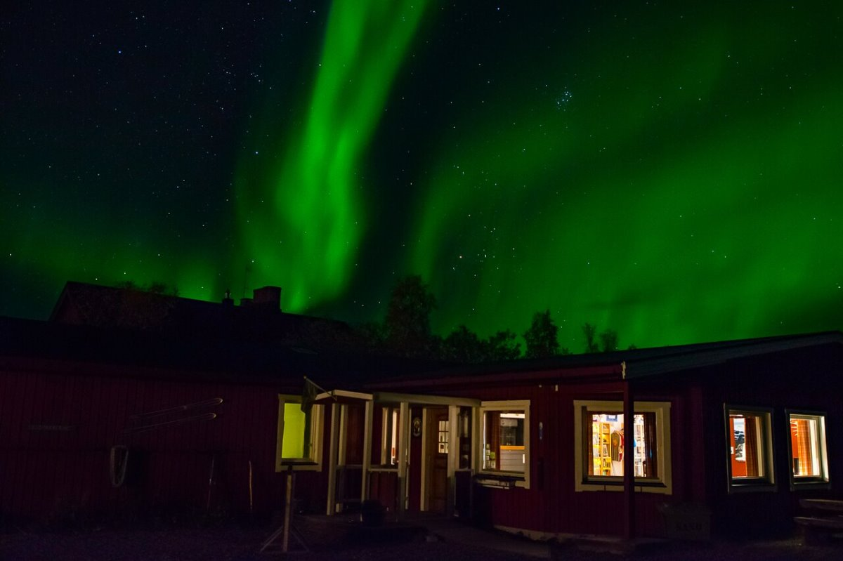 Abisko Mountain Lodge, Σουηδία