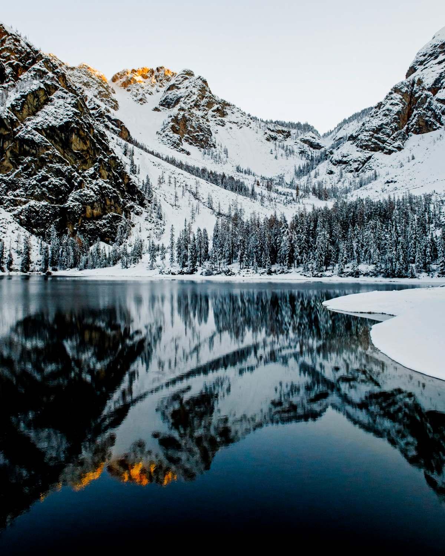 λίμνη στην Νότια Ιταλία