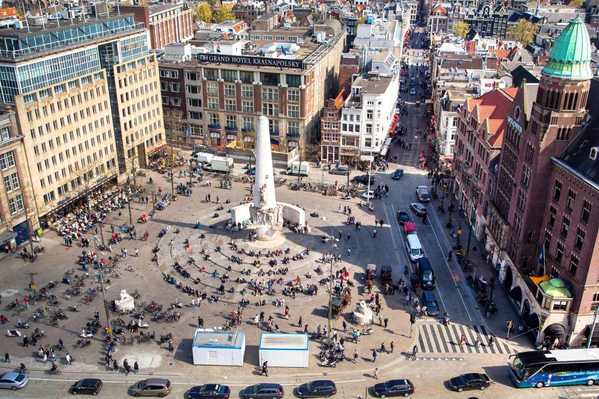 Οι πλατείες του Άμστερνταμ
