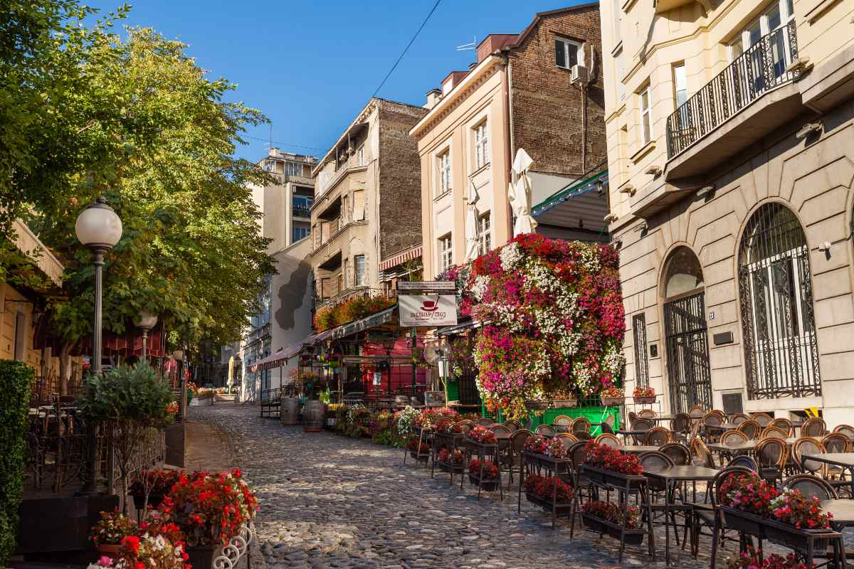 Βελιγράδι, Σερβία, δρόμος