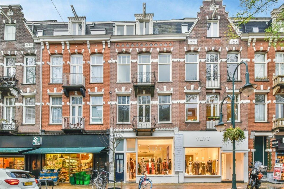 Μαγαζιά στην οδό Cornelis Schuytstraat στο Άμστερνταμ
