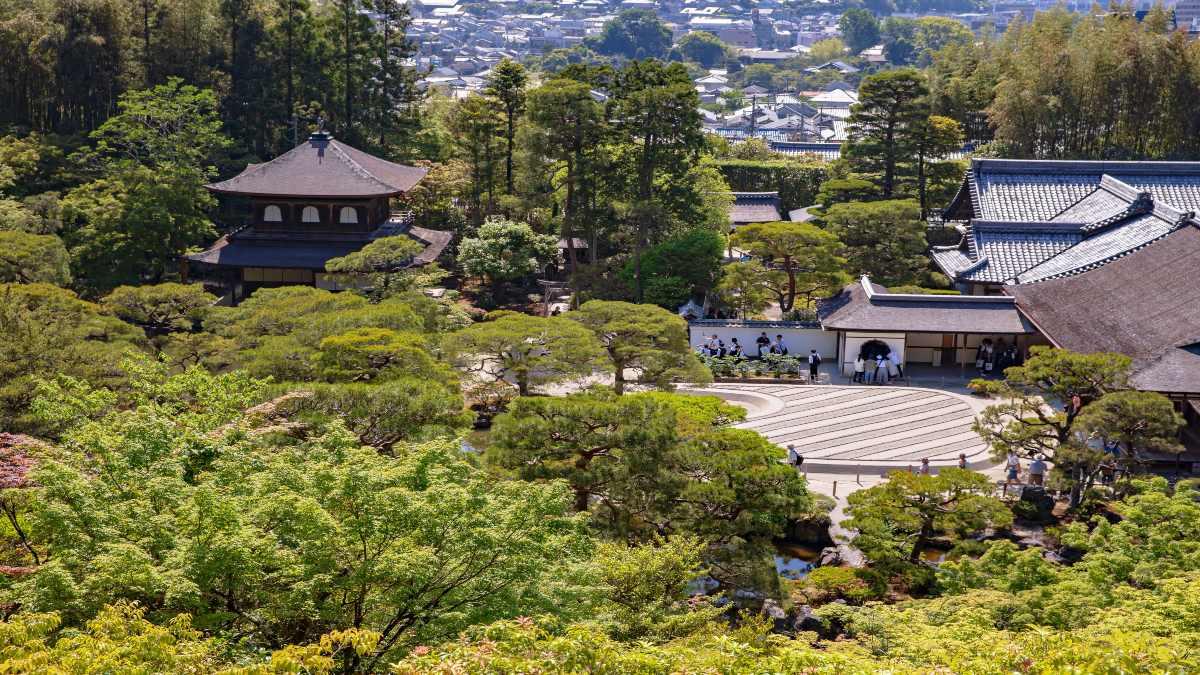 Ναός Ginkakuji zen