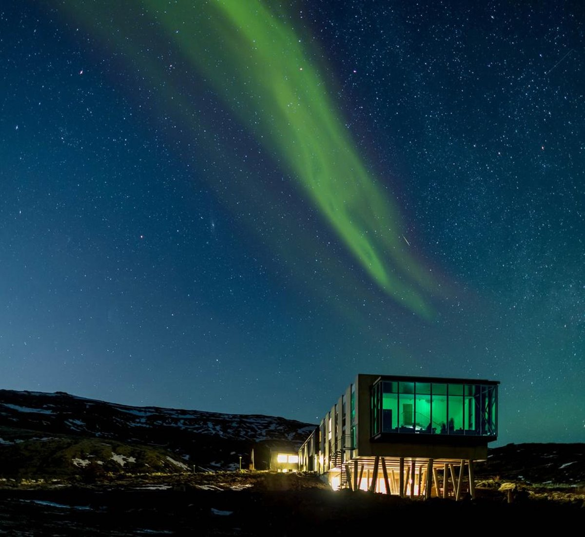 Ion Hotel, Ισλανδία