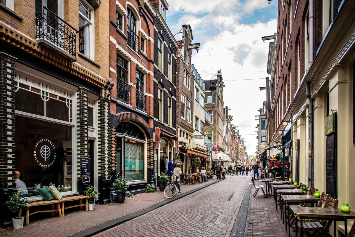 Από τις πιο αρτιστίκ γειτονιές του Άμστερνταμ, το Jordaan