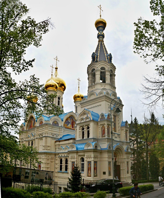 Εκκλησία της Μαρίας Μαγδαληνής & Ορθόδοξη Εκκλησία Πέτρου και Παύλου Κάρλοβι Βάρι