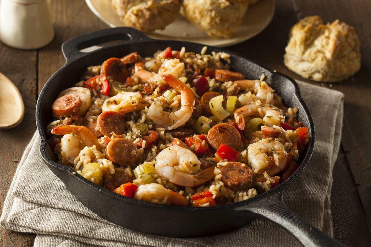 κουζίνα Νέα Ορλεάνη - Cajun Jambalaya