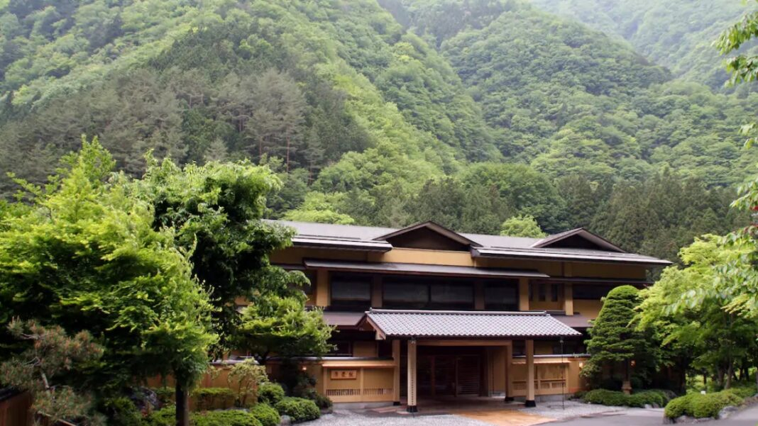 Nishiyama Onsen Keiunkan παλαιότερο ξενοδοχείο Ιαπωνία