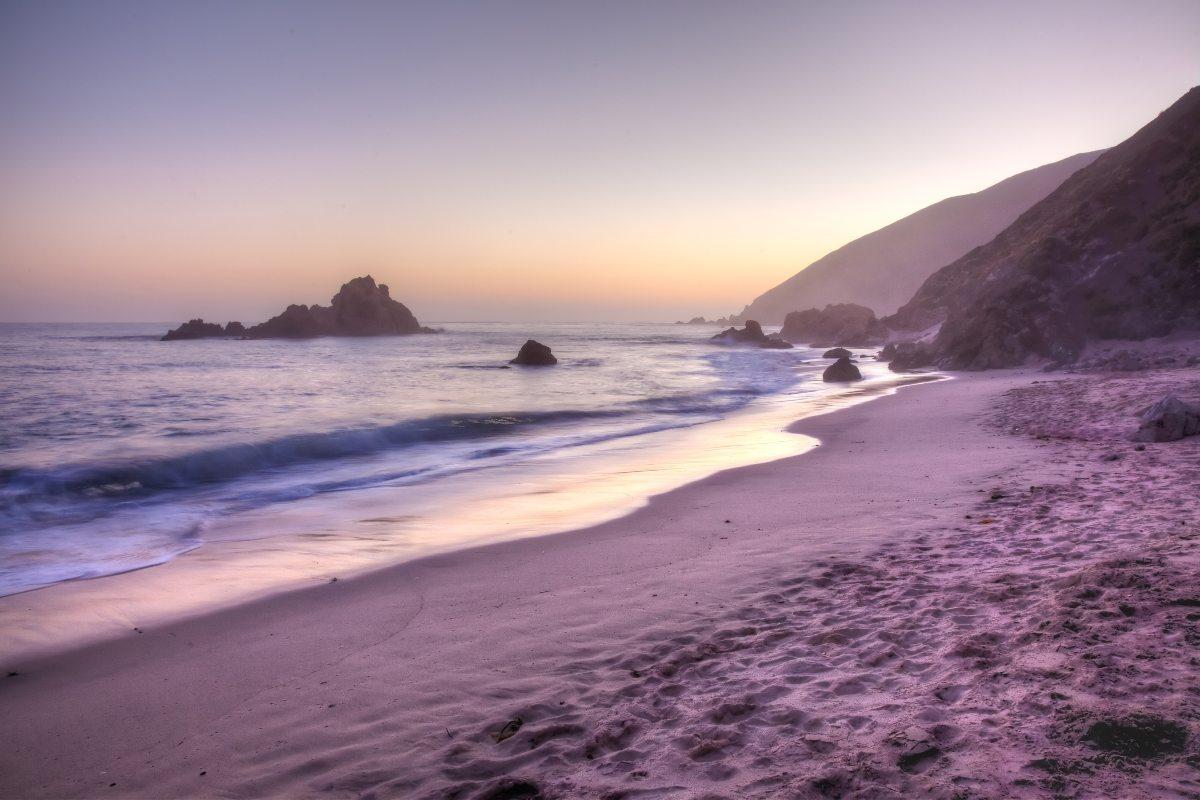 Pfeiffer Beach, Καλιφόρνια