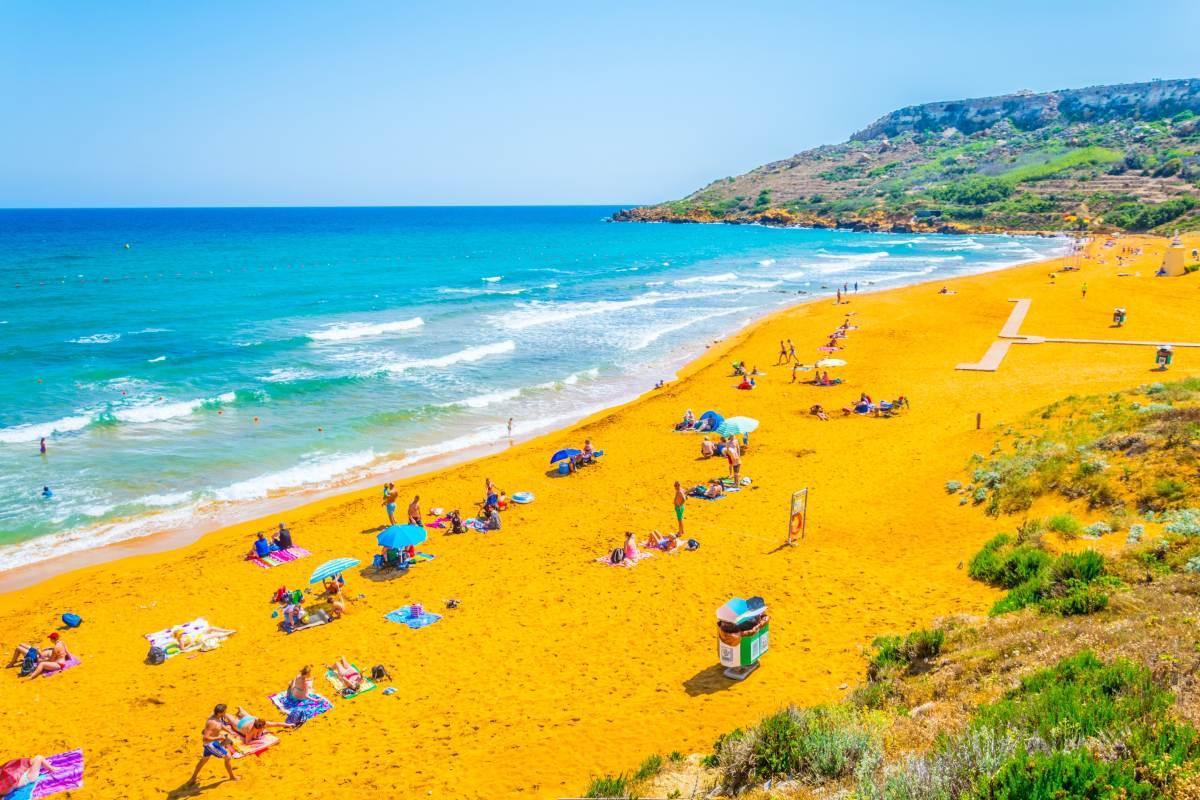 Ramla Bay, Gozo, Μάλτα