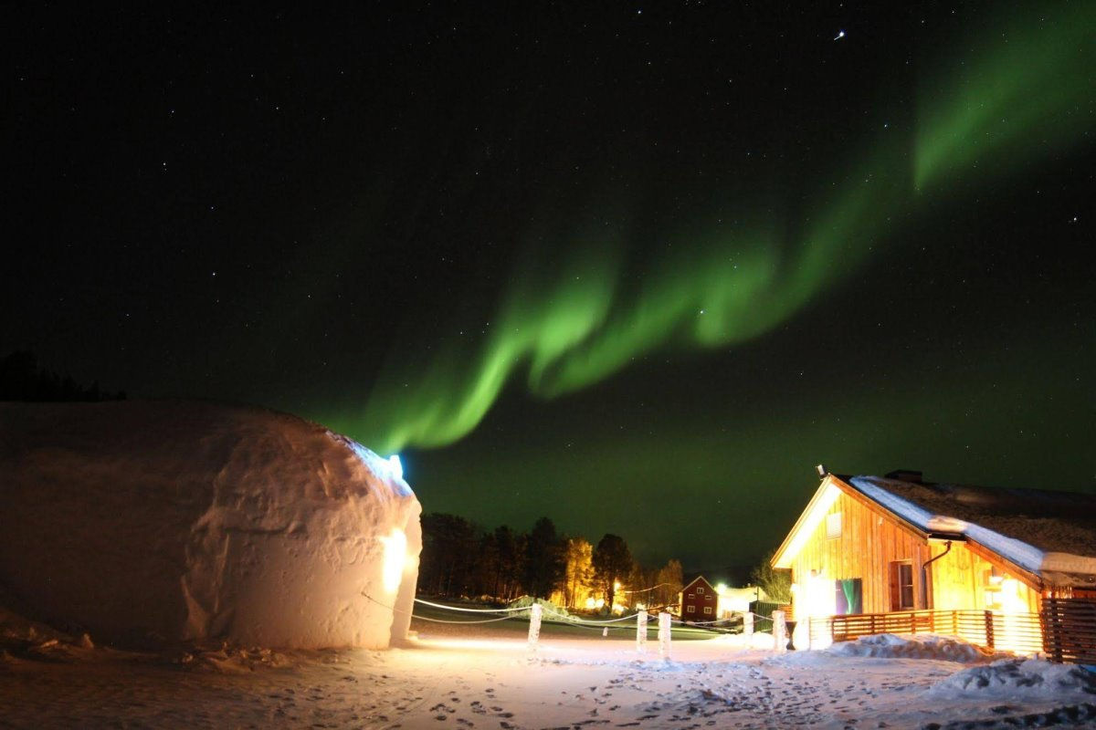 Sorrisniva Igloo Hotel, Νορβηγία