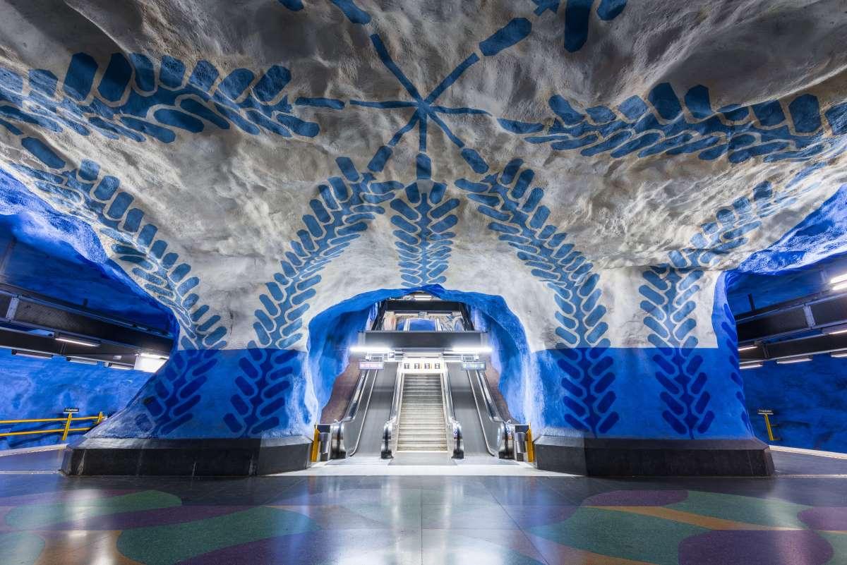 Το μετρό της Στοκχόλμης το ωραιότερο στον κόσμο