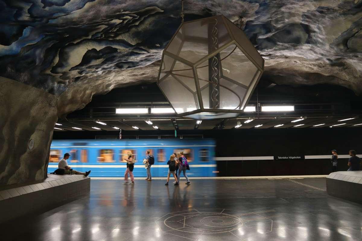 Μετρό Στοκχόλμης, αποβάθρα