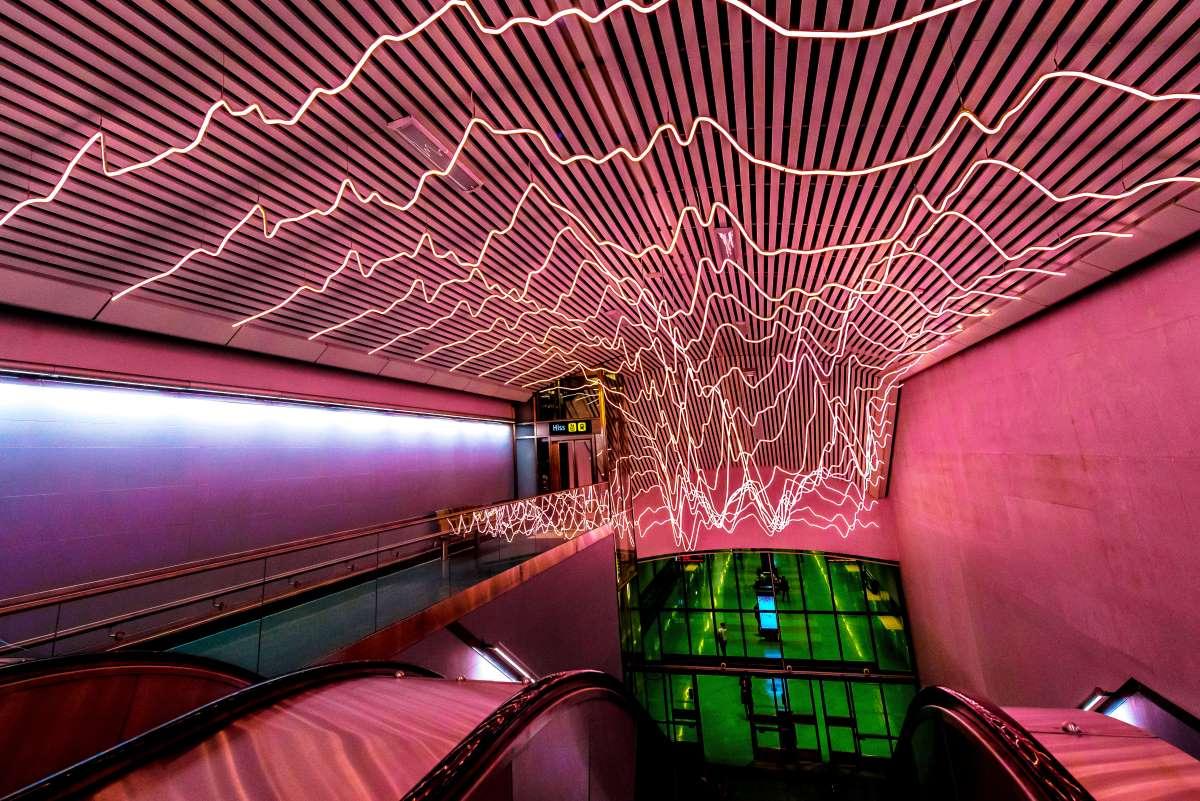 Το μετρό της Στοκχόλμης είναι  «η μακρύτερη γκαλερί στον κόσμο»