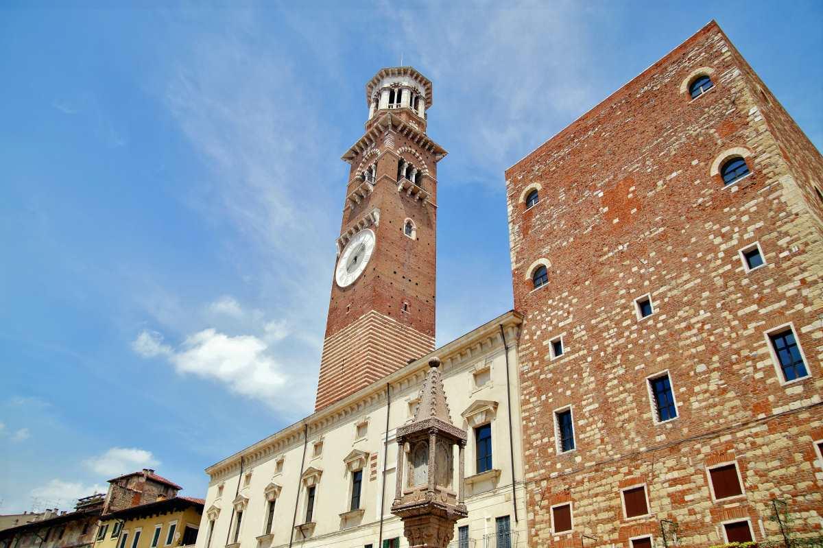 Πύργος των Λαµπέρτι (Torre dei Lamberti), Βερόνα