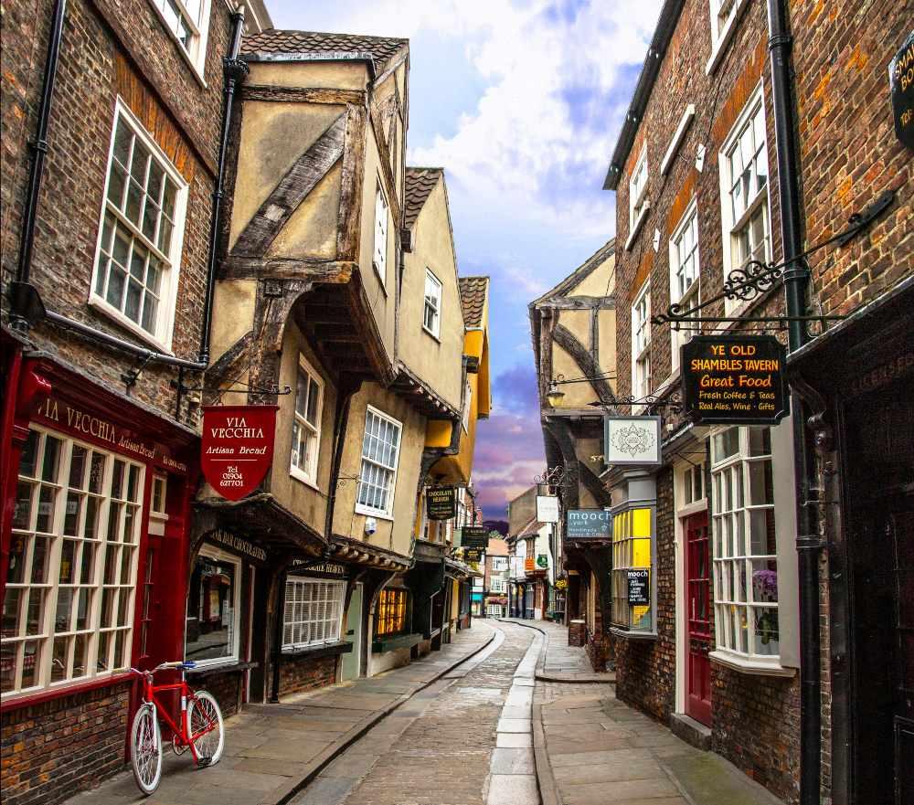 York Βρετανία, δρομάκι