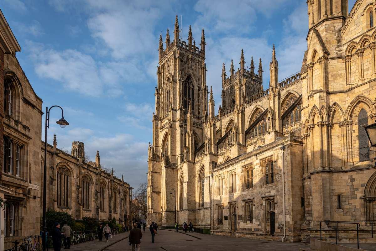 York Βρετανία, καθεδρικός