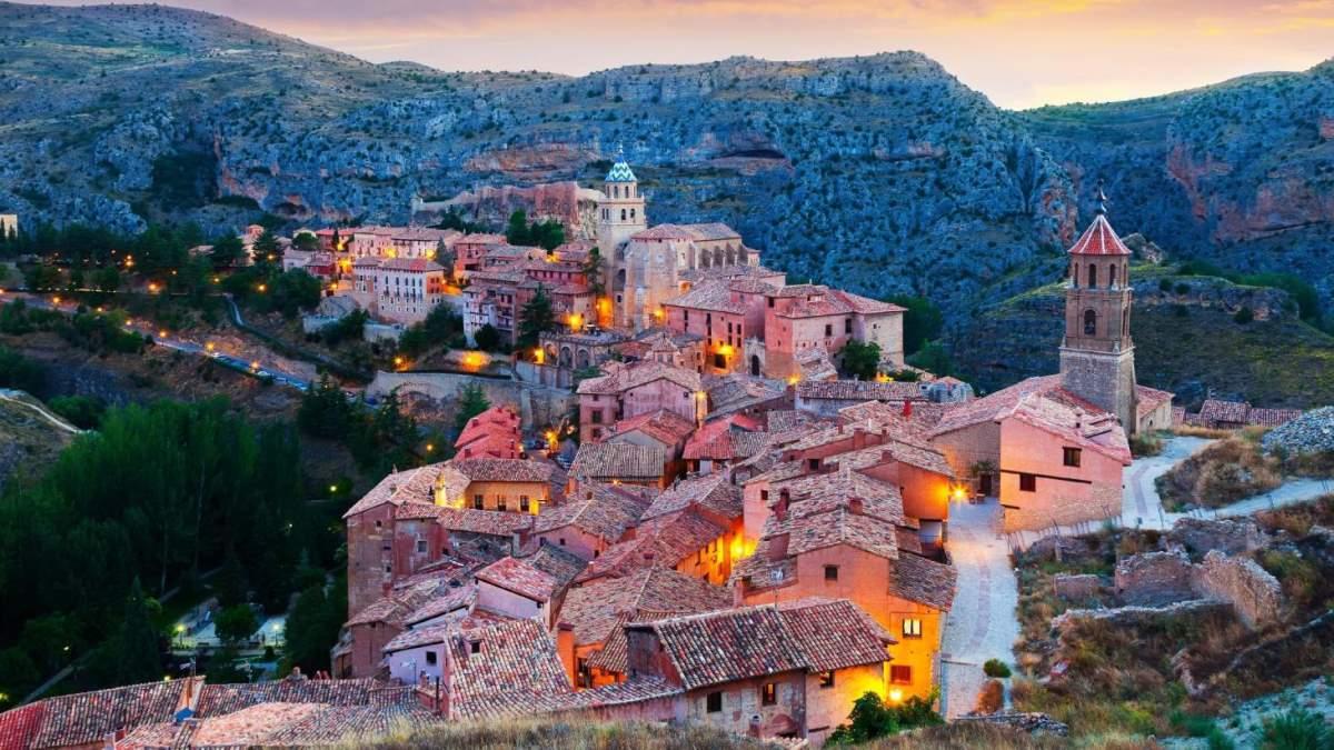 Albarracin όμορφο χωριό