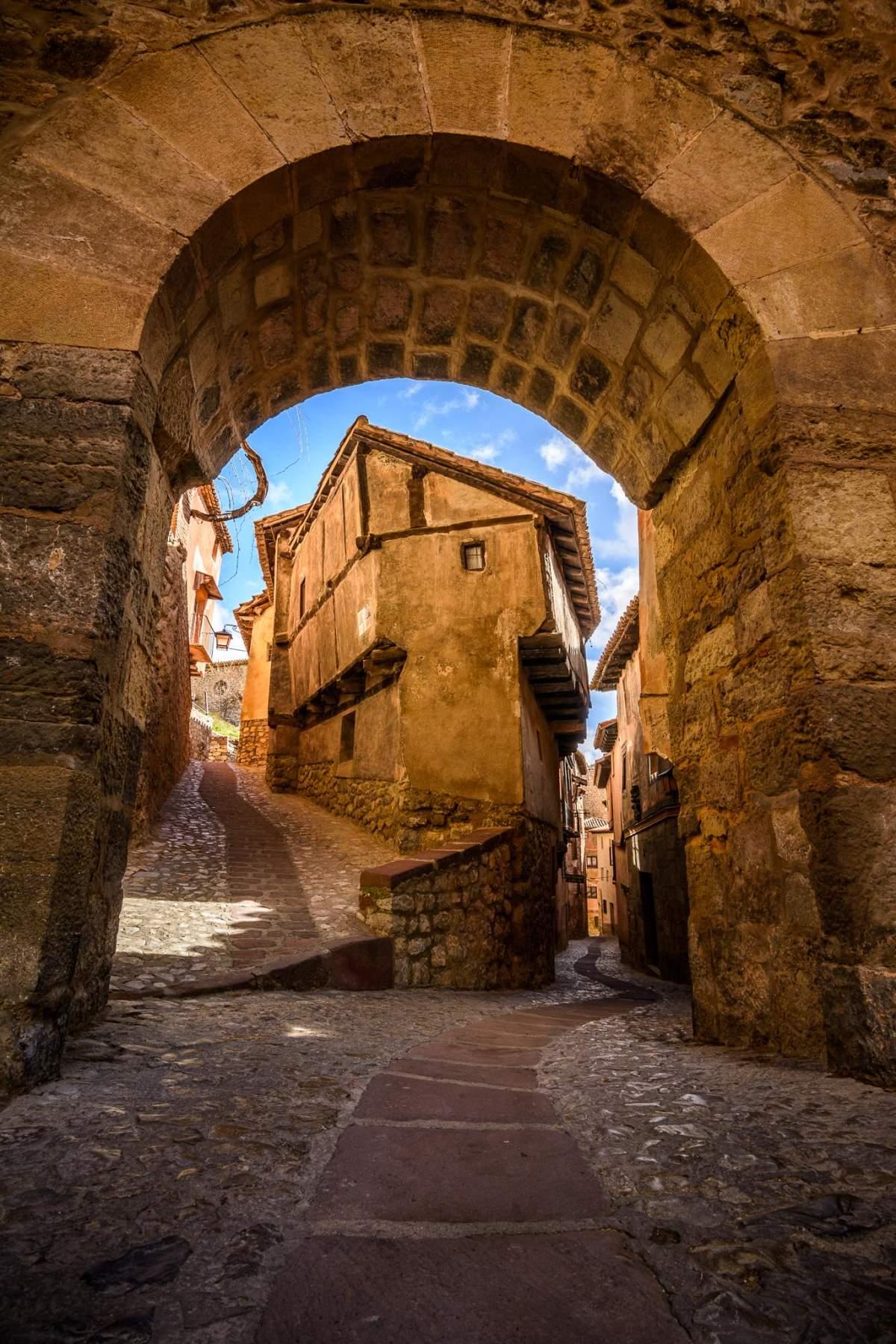 Albarracin μεσαιωνικό χωριό ισπανίας