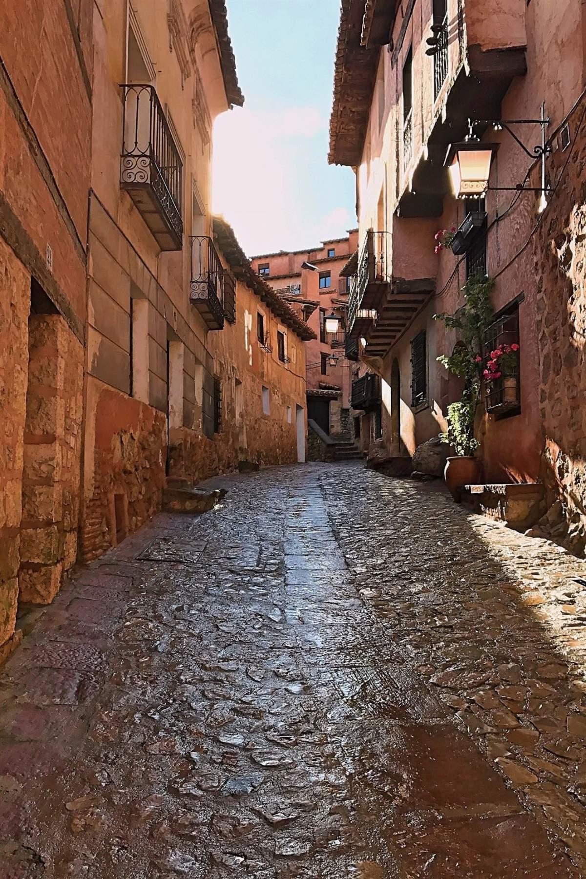 Albarracin μεσαιωνικό χωριό στην Ισπανία