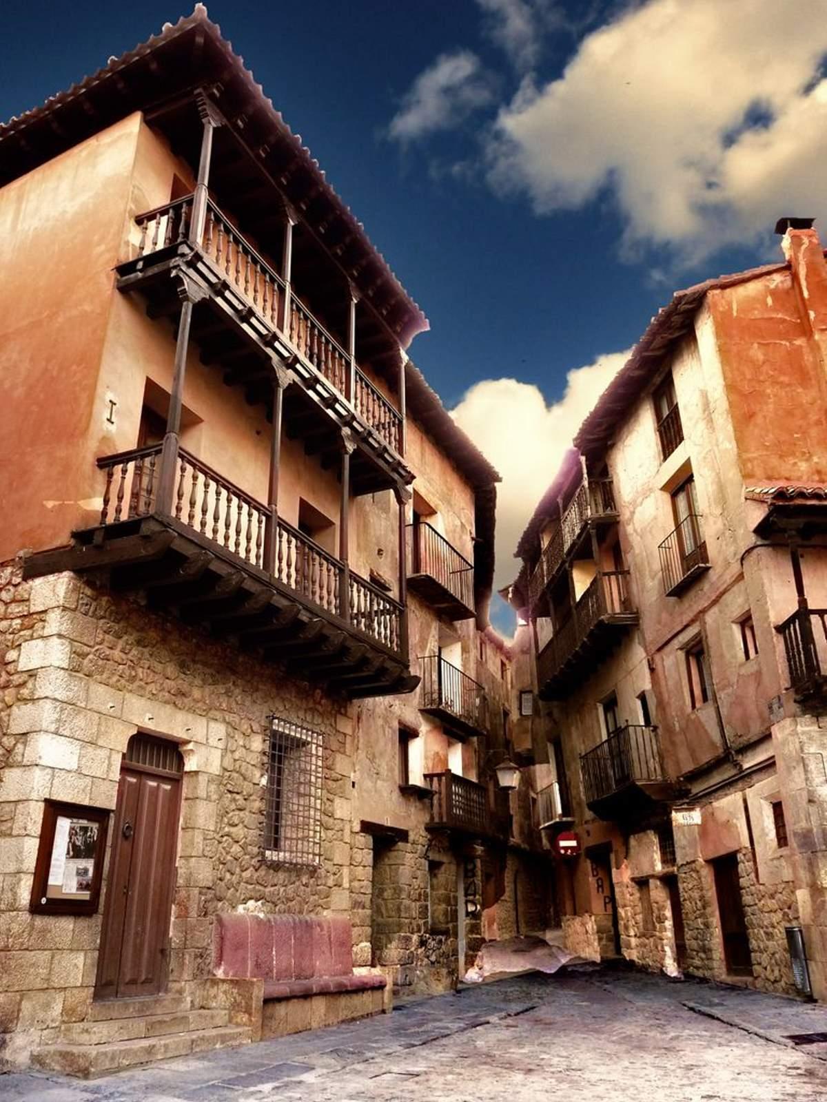 Σπίτια στο Albarracin