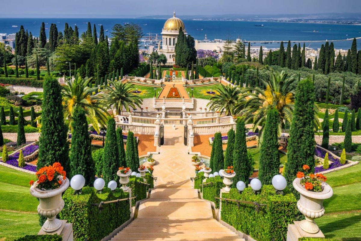 Κήποι Bahai, Haifa, Ισραήλ