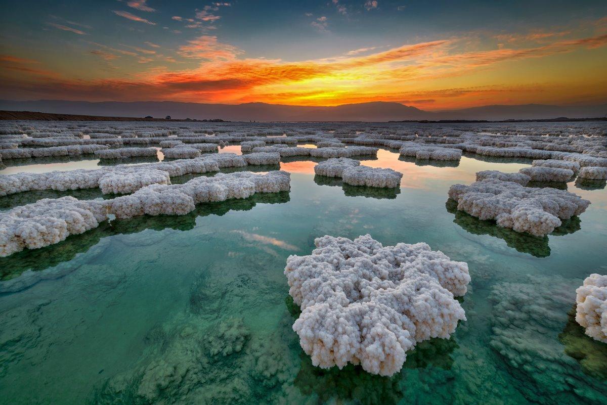 Νεκρά Θάλασσα αλάτι