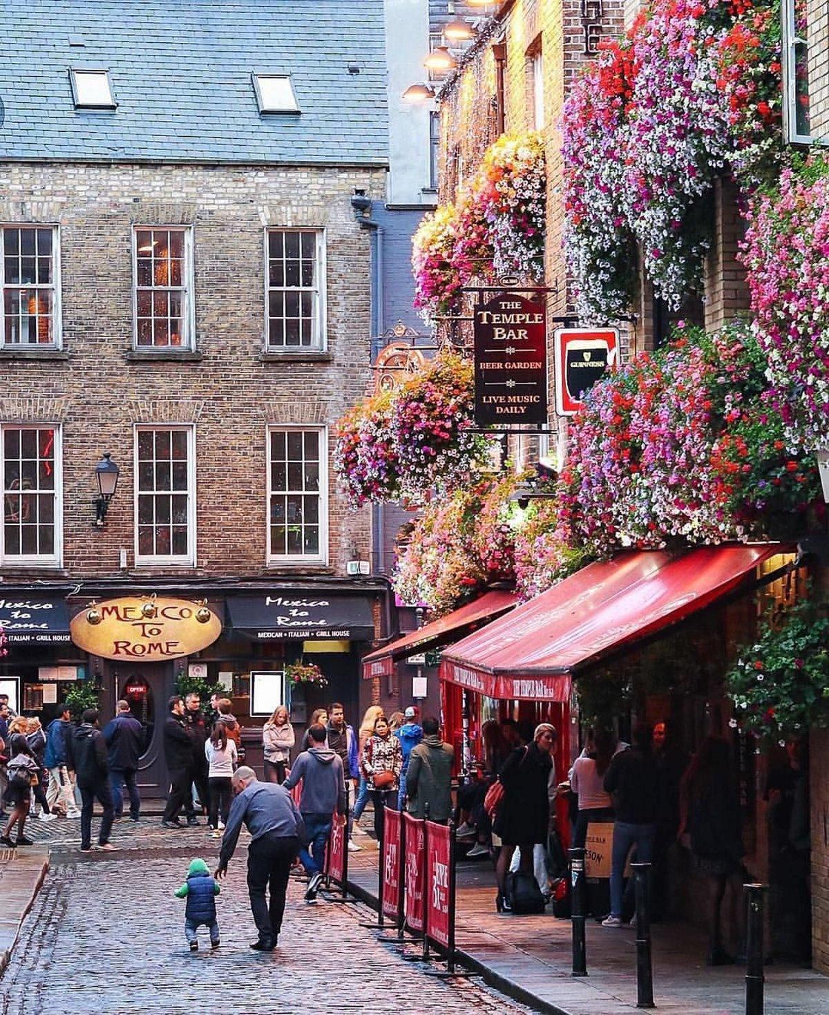 Υπαίθρια μαγαζιά Δουβλίνο