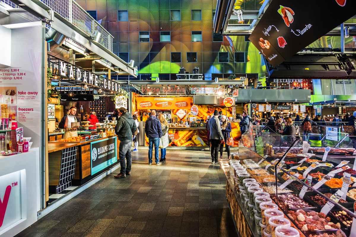 επιχειρήσεις στην αγορά Markthal