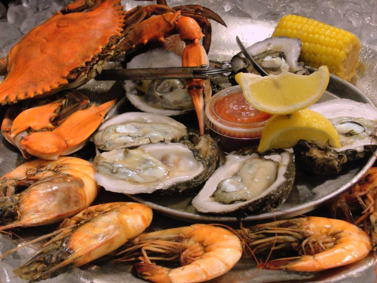 κουζίνα Νέα Ορλεάνη - θαλασσινά