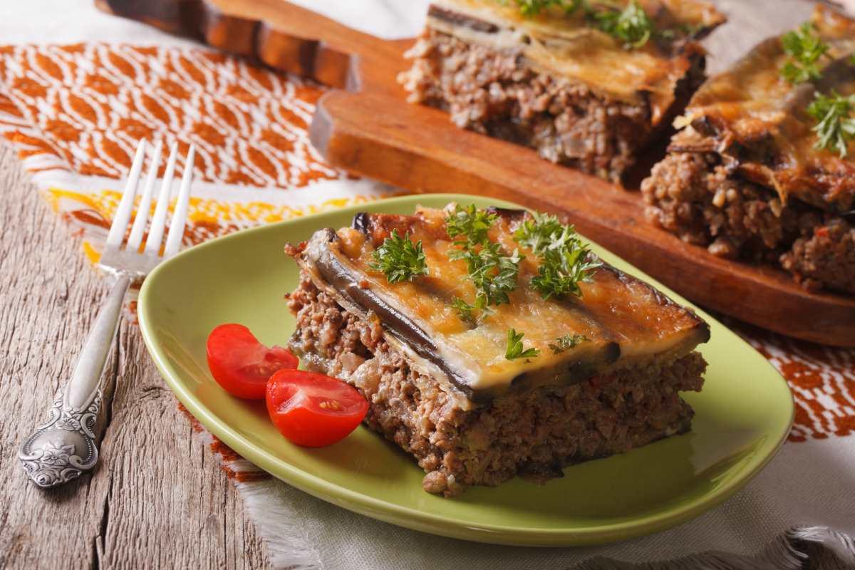 ελληνική κουζίνα -μουσακάς