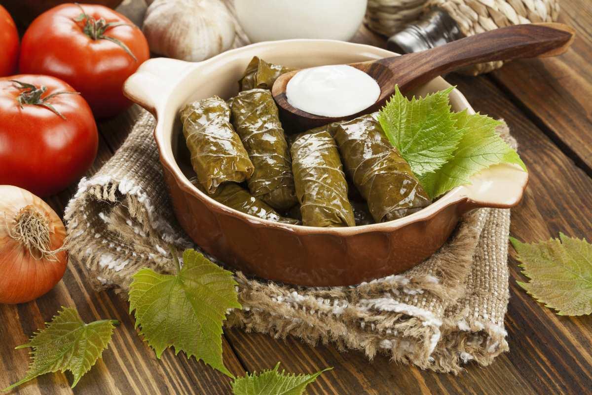 ελληνική κουζίνα - ντολμαδάκια
