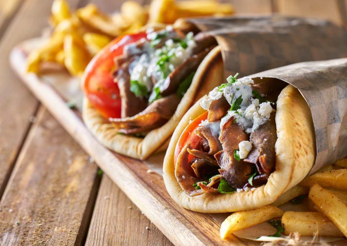 ελληνική κουζίνα - σουβλάκια