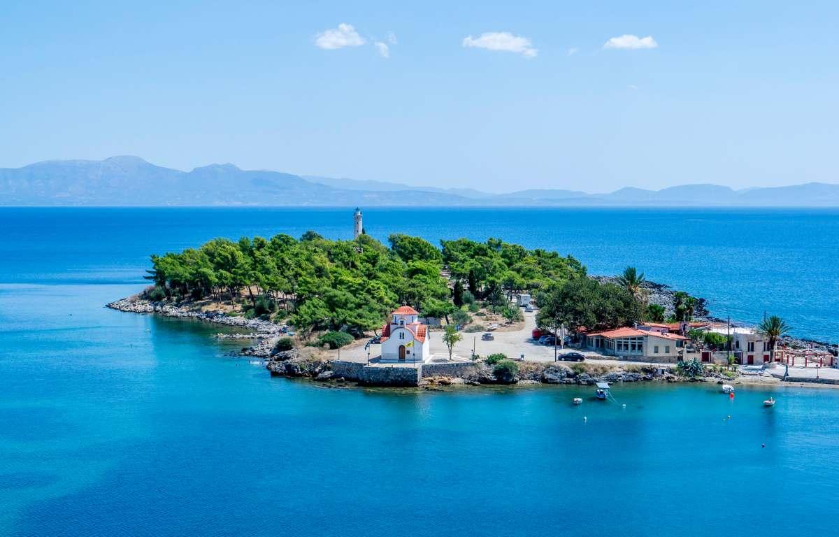 Γύθειο νησάκι Κρανάη