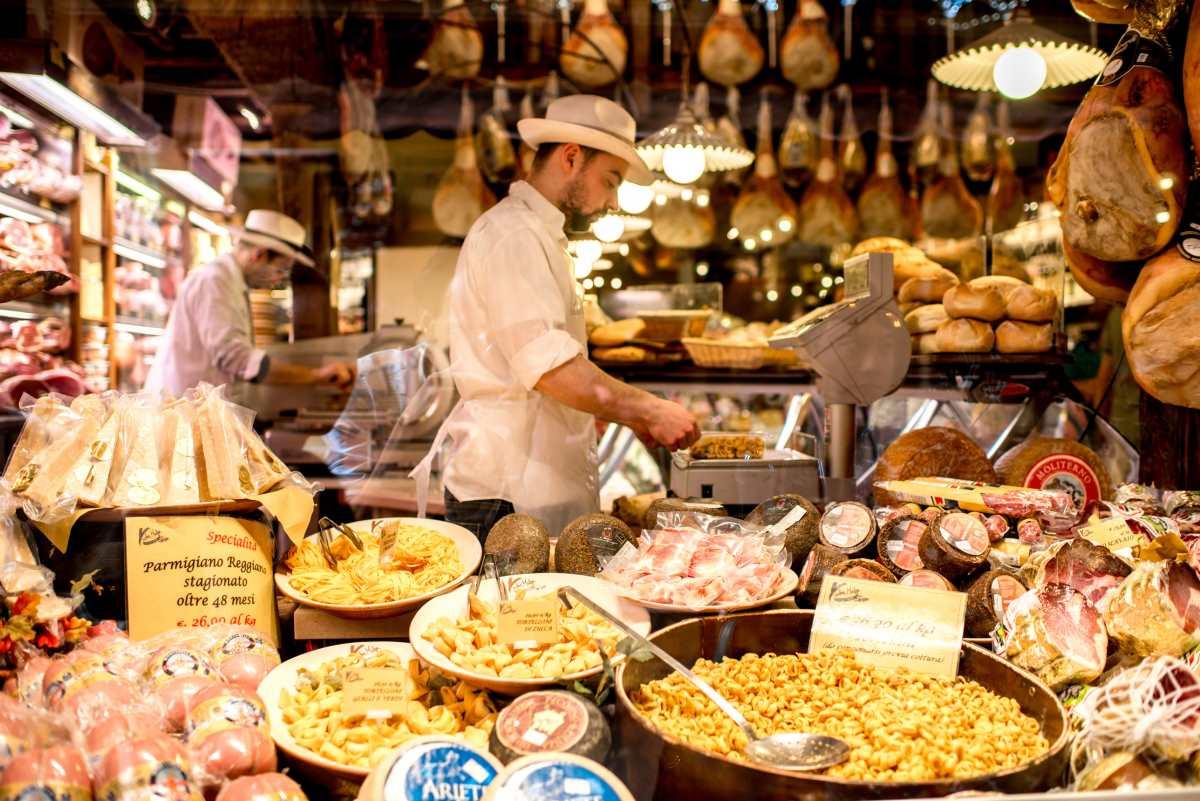 Μπολόνια, φαγητό