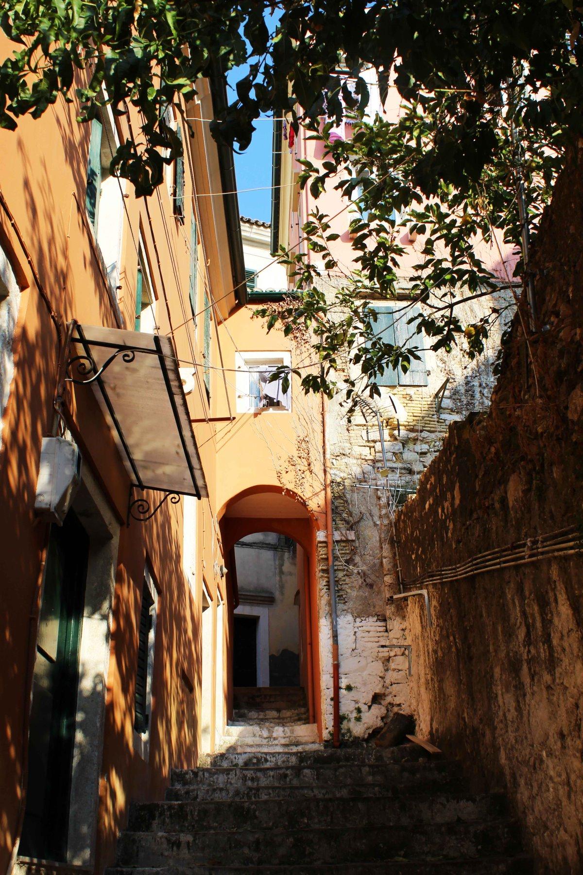 Κέρκυρα γειτονιά Καμπιέλο