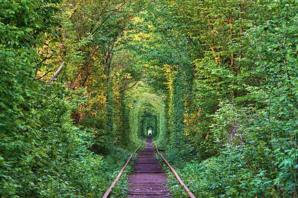 Klevan, Ουκρανία, σιδηρόδρομος