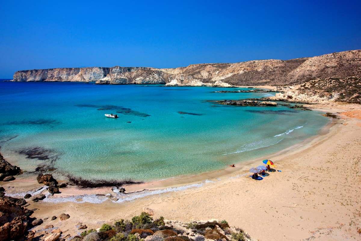 Κουφονήσι στη Κρήτη, παραλία