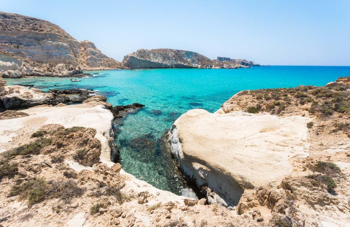 Κουφονήσι παραλία, Κρήτη