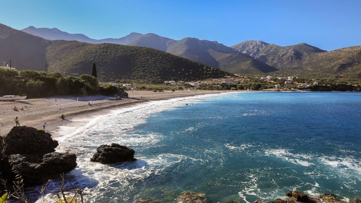 Κυπαρίσσι Λακωνίας, παραλία