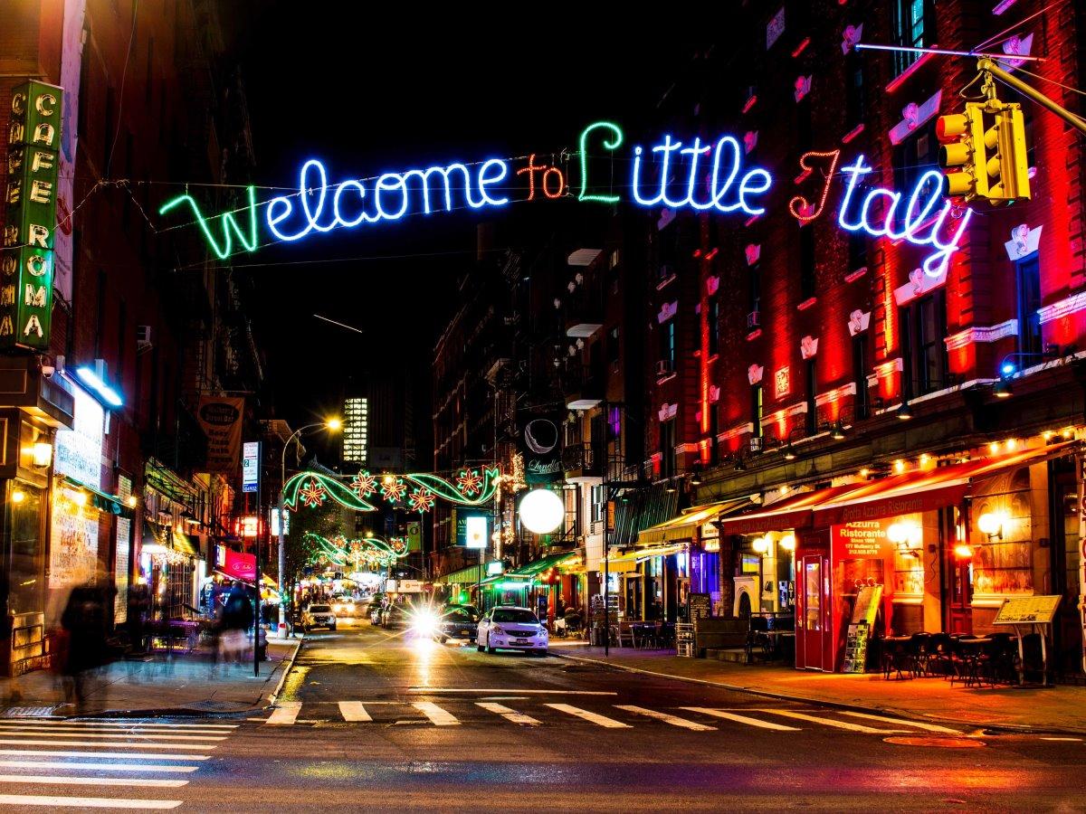 Little Italy Νέα Υόρκη