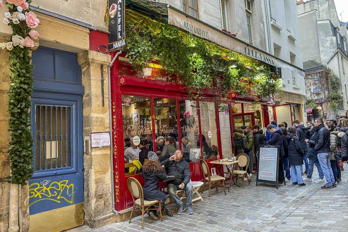 Marais γειτονιά Παρίσι