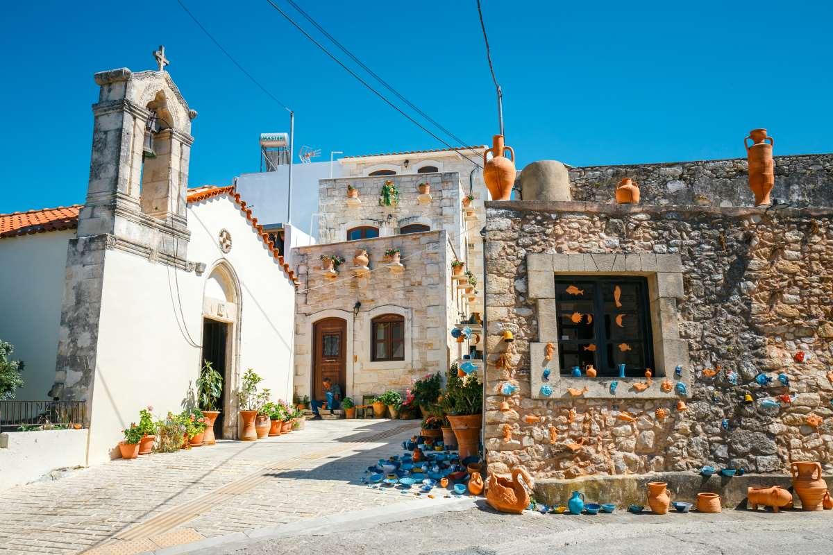 Μαργαρίτες, Ρέθυμνο, το χωριό που φημίζεται για τα κεραμικά του