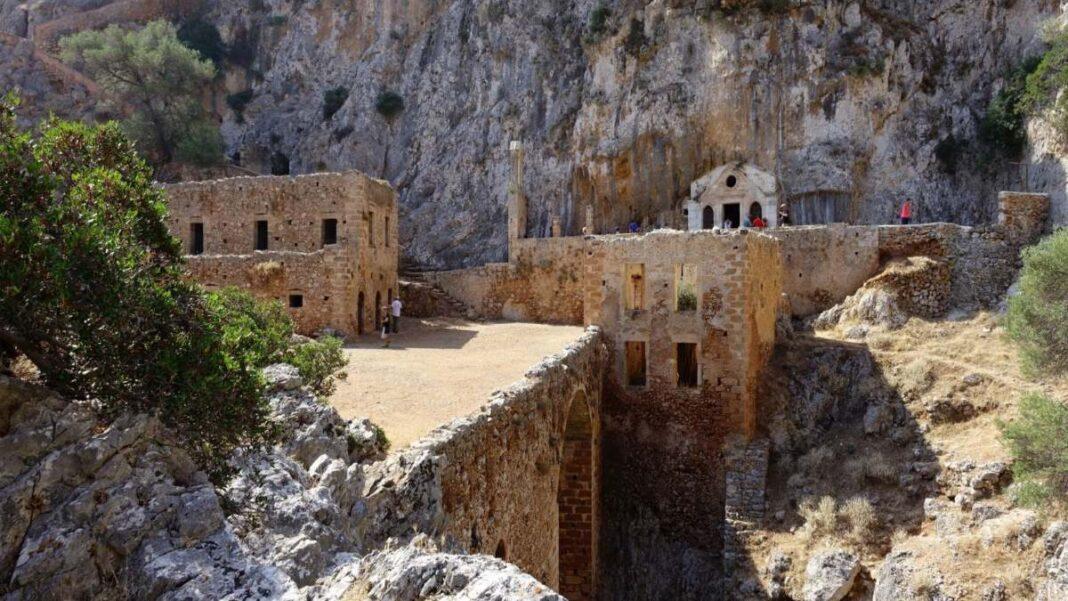 Μονή Ερημίτη Κρήτη