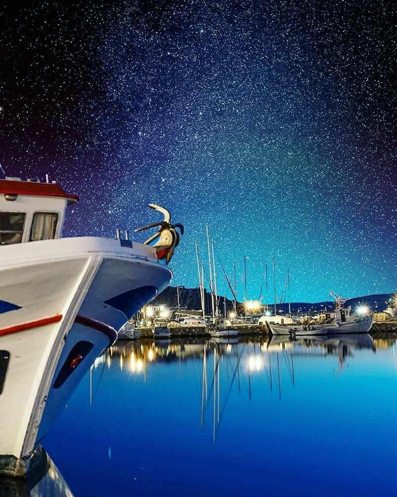 Πάρος - λιμάνι WorldvibesbyEleanna