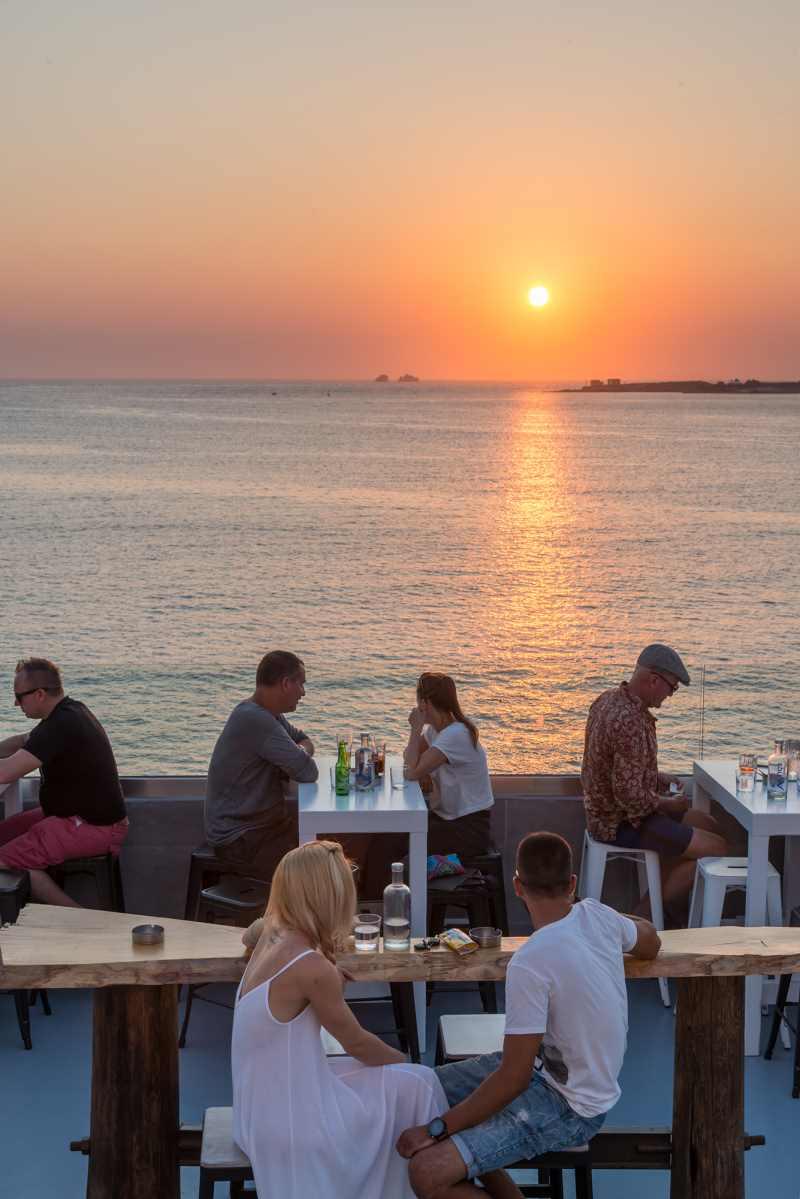 Πάρος WorldvibesbyEleanna, Παροικιά ηλιοβασίλεμα