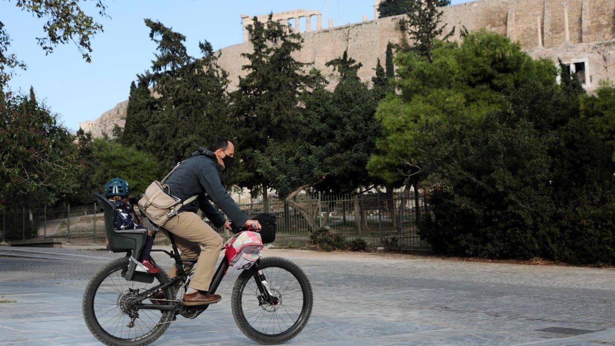 Ποδήλατο στην Αθήνα
