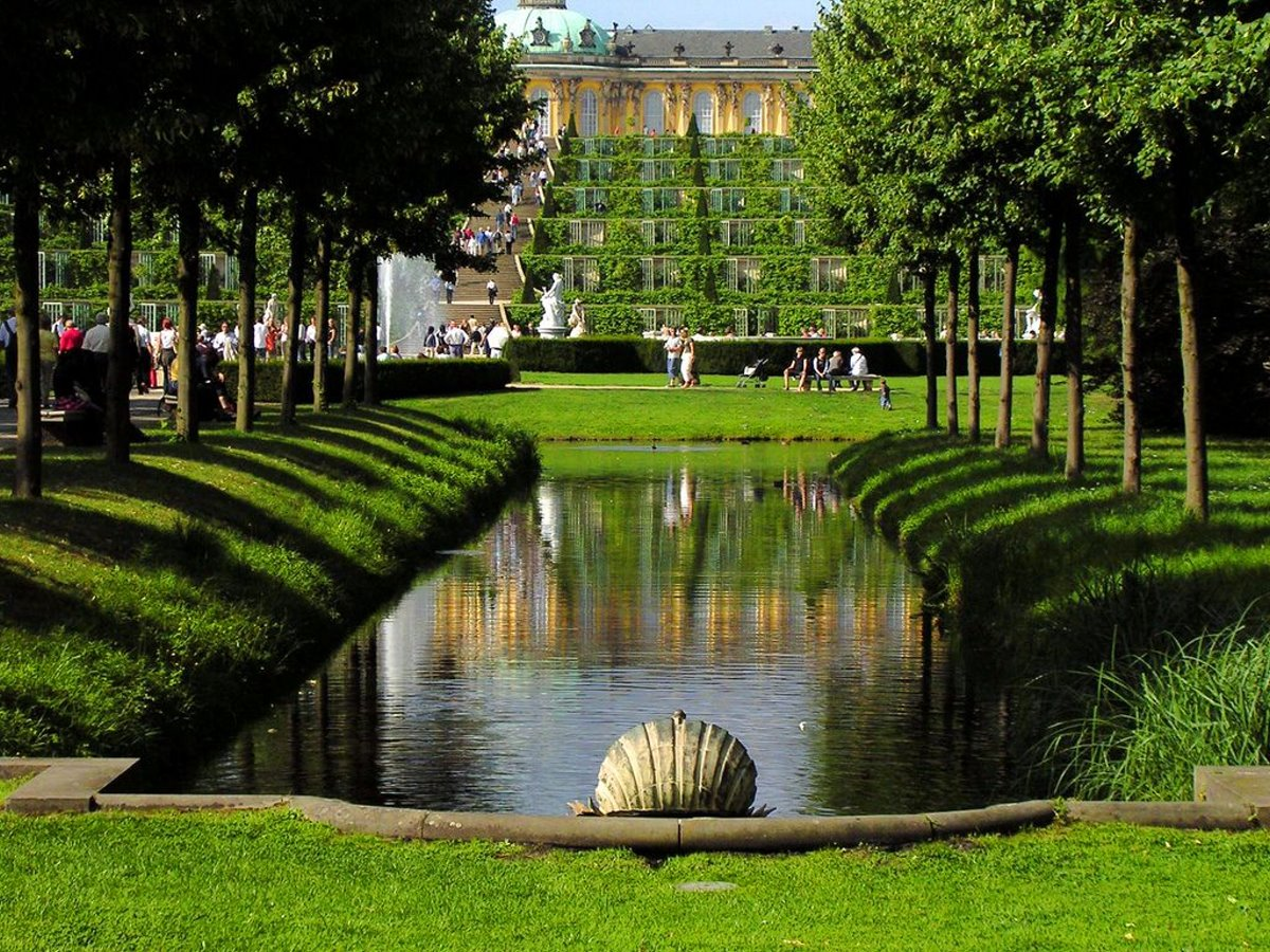 Κήποι του Παλατιού Sanssouci, Βερολίνο, Γερμανία